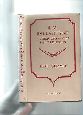 R M Ballantyne - A Bibliography Of First Editions - Quayle