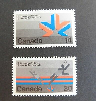Canada 1978 11th Commonwealth Games SG908 / 9 MNH UM unmounted mint x