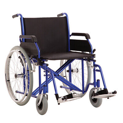 MLE Bariatric Wheelchair, Double Cross Brace, Steel, 200Kg User weight