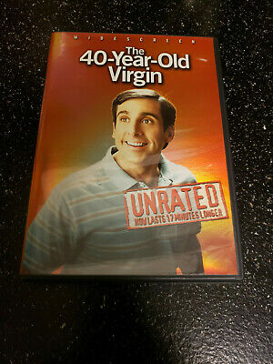 The 40-Year-Old Virgin (DVD, 2005, Widescreen Unrated)