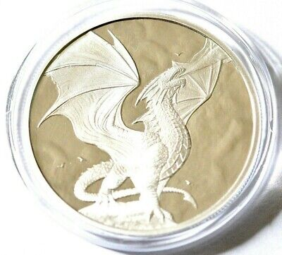 1oz 999 Silver Proof Round Anne Stokes Dragons Noble Dragon Limited to 3000 wi