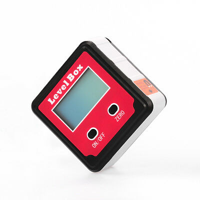 Digital Inclinometer Spirit Level Box Protractor Angle Finder Gauge Meter Bevel.