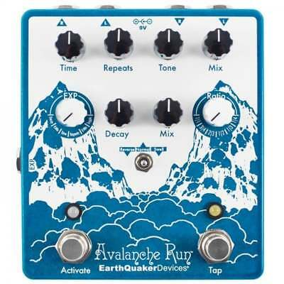 EarthQuaker Devices Avalanche Run V2 Stereo Reverb & Delay with Tap Tempo