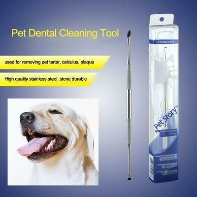 Dental Veterinary Dog Pet Tooth Cleaning Teeth Scraper Double Sided Tools