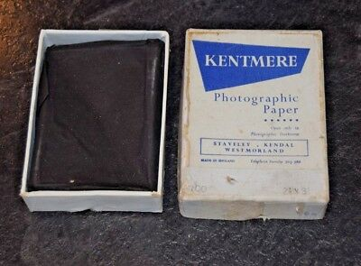 vintage Kentmere Photographic Paper 2.5 x 3.5 inches