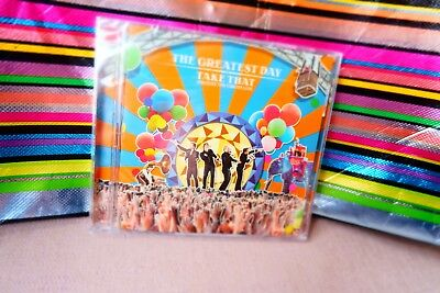 2xCD Take That Greatest Day/Circus Live New Sealed Fast Freepost Rule the World