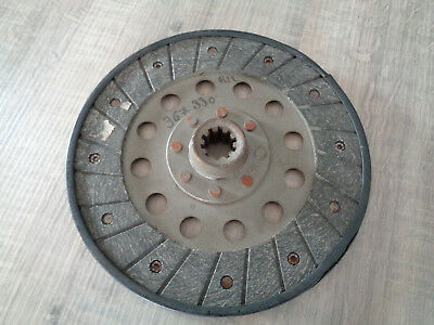 Disque embrayage Tracteur 200mm 10 Cannelures Chenard FAR Deutz Ford New Holland