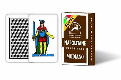 New Modiano Italian Playing cards NAPOLETANE Scopa