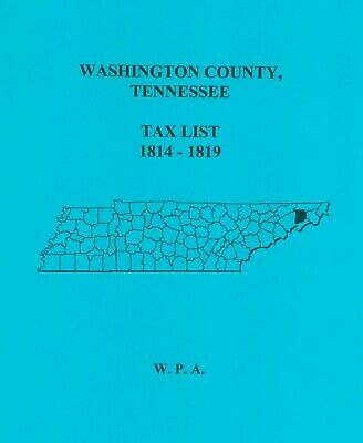 Washington County, Tn - Tax List 1814-1819
