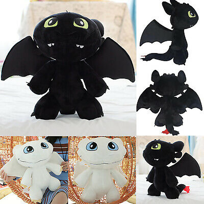 30cm How to Train Your Dragon Toothless Night Fury Stuffed Dolls Plush Toys Gift