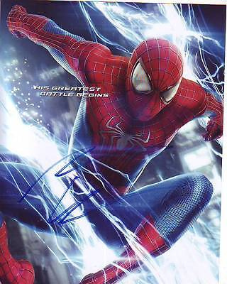 Entertainment Memorabilia Shop For Cheap Emma Stone Signed The Amazing Spiderman Photo W/ Hologram Coa Autographs-original