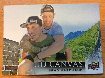 Upper Deck 2018-2019 Series Two Brad Marchand Canvas C-125