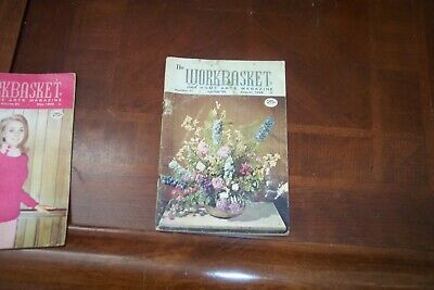 The WORKBASKET And Home Arts Magazine, August 1968, # 11 Volume 33