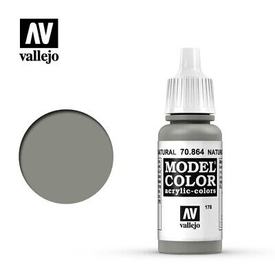 Vallejo Model Color - Metallic Natural Steel 17ml VAL864