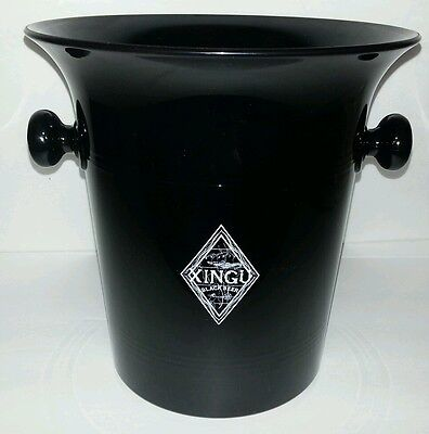Rare Brazil Xingu Black Beer Ice Bucket Barware  Champagne Or Wine Bucket
