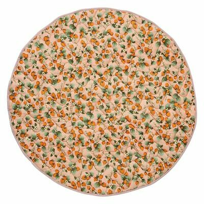 Kip & Co Sojourn Collection: The Patch Peach Quilted Baby Play Mat