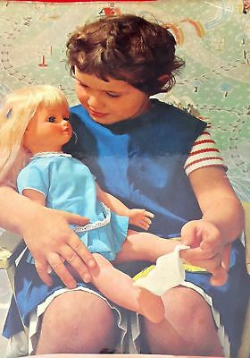 VINTAGE 1950s TOYS FROM BRITAIN-THE EVER-POPULAR DOLL MAKING FACTORY ADV. PRINT