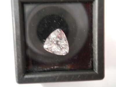 Natural  2.5 Ct Trillion Cut Untreated White Kunzite Loose Gemstone