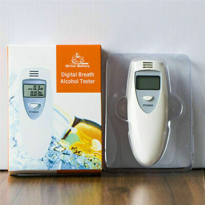 Portable MINI LCD Digital Alcohol Control Breath Tester Analyzer Breathalyzer Te