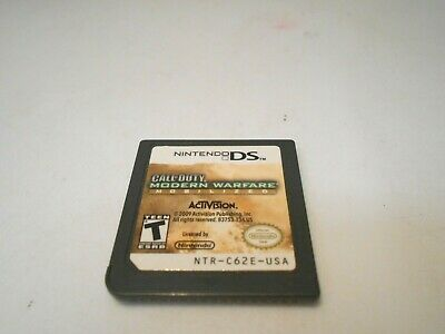 Call of Duty: Modern Warfare - Mobilized (Nintendo DS) game lite dsi xl 3ds 2ds
