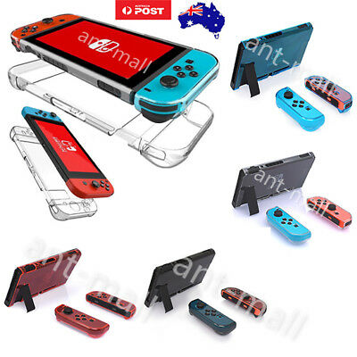 4 Colour For Nintendo Switch Transparent Shockproof Protective Hard Case Cover