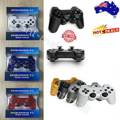 1/2PCS For Sony PS3 PlayStation 3 Wireless Bluetooth Game Controller Dual Shock