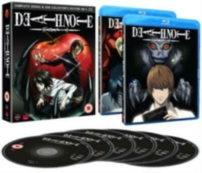 Death Note: Complete Series and OVA Collection =Region B BluRay,sealed=
