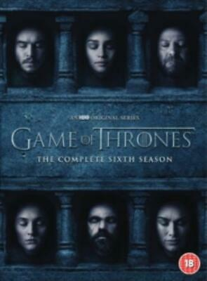 Game of Thrones: The Complete Sixth Season =Region 2 DVD,sealed=