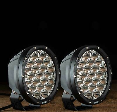 "Kings 7"" LED Driving Lights Pair Round Spot Offroad 4x4 Work SUV"
