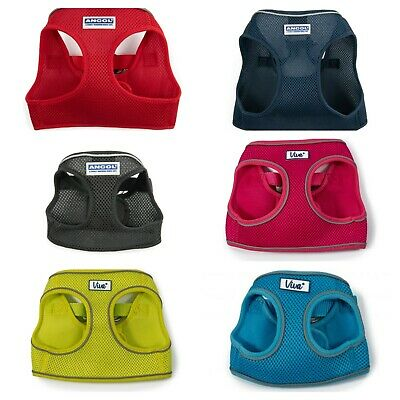 Ancol Step-in Chest Plate Dog Harness Anti Pulling Nylon Dog Vest