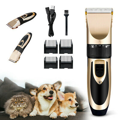 Low Noise Pet Cordless Dogs and Cats Electric Clippers Grooming Trimming Kit