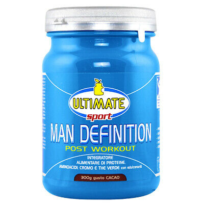 ULTIMATE ITALIA MAN DEFINITION POST WORKOUT 300 GR Cacao