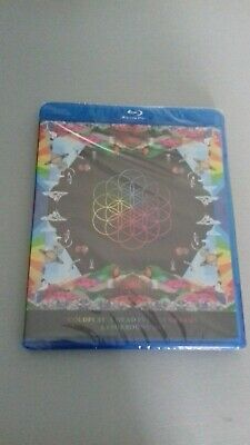 Coldplay A Head Full Of Dreams 5.1 Surround Mix Blu Ray Rare Audio Cd Tracklist