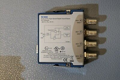 National Instruments NI 9402 - 4ch; LVTTL High-Speed digital input / output