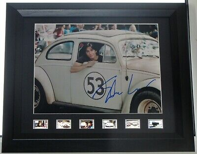 Justin Long Signed Herbie Fully Loaded Authentic Guaranteed Aftal #199