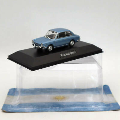 1:43 IXO Fiat 800 1966 Diecast Cars Models Toys Limited Edition Collection