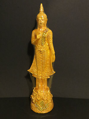 Monday Buddha Statue from Thailand 37.9cm Tall