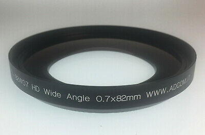 Lens Conversion Wide Angle 0.7x82mm