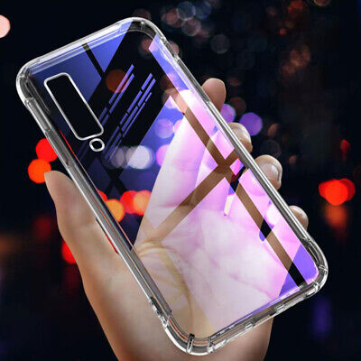 Ultra Slim Shockproof Crystal Silicone Case Cover for Samsung Galaxy A7 A50 A30