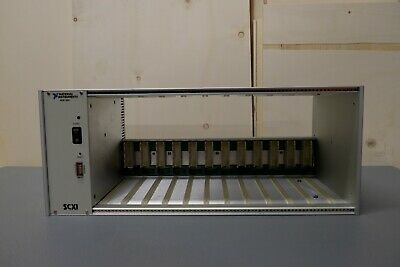 National Instruments 181455K-31 (SCXI-1001) 12-Slot Chassis, Voltage: 100-240VAC