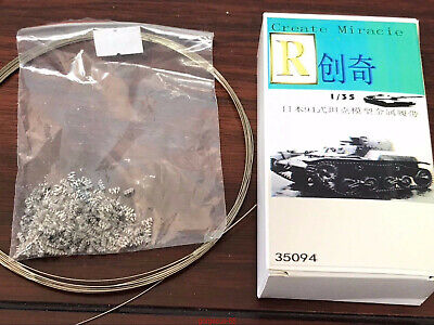 R-Model 1/35 35094 Metal Track For WWII Japanese TYPE 94 Light Tank