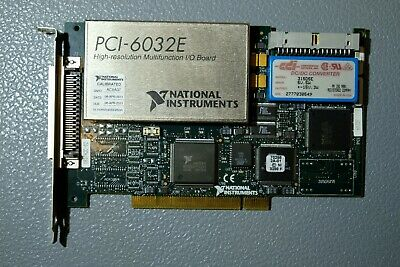 National Instruments PCI-6032E