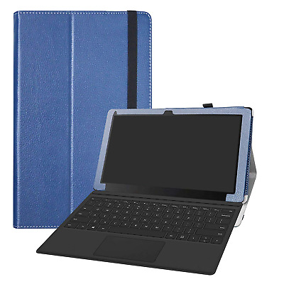 LFDZ Linx 12X64 Case-Slim Folio Folding Stand PU Leather Cover for Linx Tablet