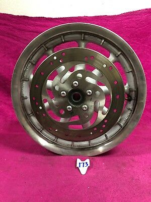 02-08 GENUINE OEM Harley Touring Dyna Softail Rear 9 Spoke Wheel Roadglide  Mag