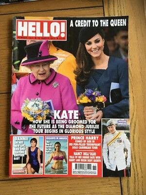 Hello Magazine Kate Middleton The Queen March 2012