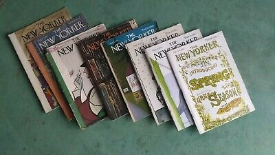 The new Yorker 8 vintage magazines