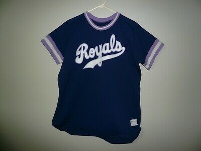 hot sale online 7c0ae 0e4c9 KANSAS CITY KC ROYALS #23 Vintage Baseball Jersey MENS SZ XL Sand Knit Rare