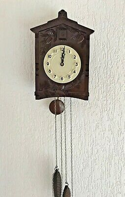 Mayak Majak Old Soviet Bakelite Cuckoo Clock Working