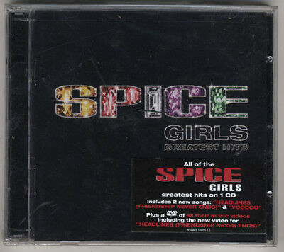 Spice Girls - Greatest Hits CD + DVD - New & Sealed With Hype Sticker- Headlines