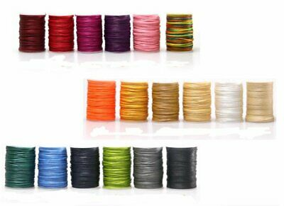 210D Flat Waxed Thread for Hand Sewing Leather Craft DIY